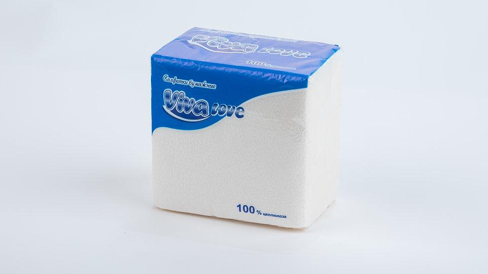 Салфетки  бумажные белые