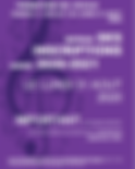 Affiche reprise inscriptions à l'École de Musique de l'Isle Jourdain