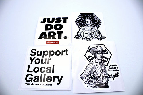 The Alley Gallery Sticker Pack Vol. 1 S3