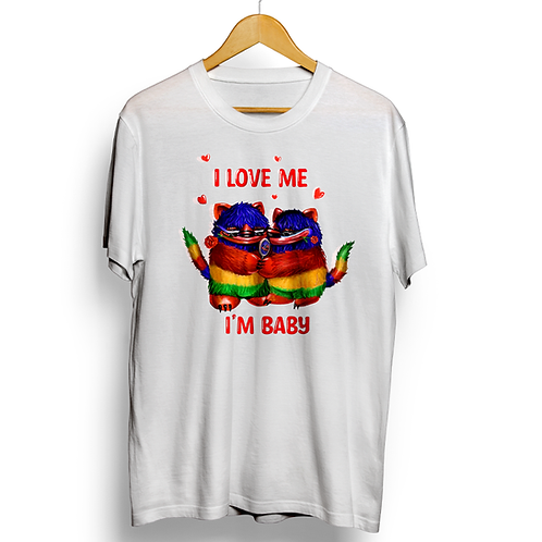Mr. BBaby - Love Me White Tee