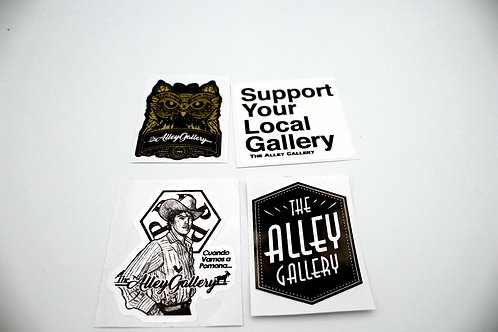 The Alley Gallery Sticker Pack Vol. 1 S2