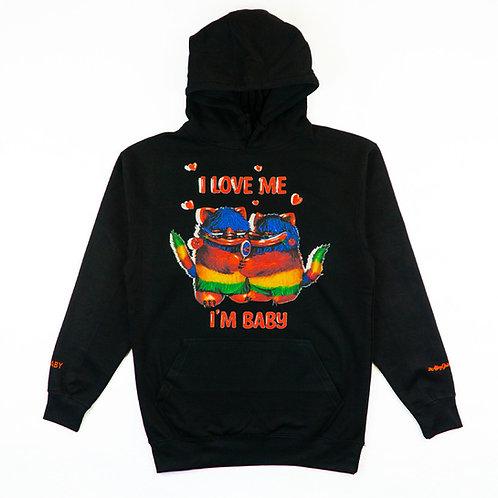 Mr. BBaby - Love Me Black Hoodie