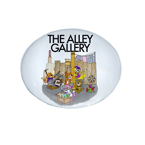 """The Alley Cats"""" Button"""