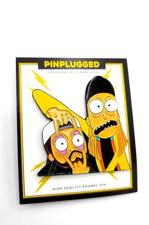 Morty Jay and Silent Bob pin