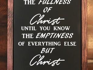 Fullness of Christ