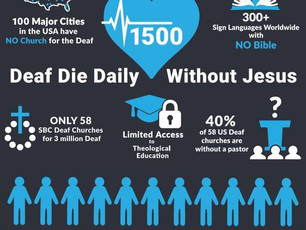 """""""Code Blue: Deaf are Unreached"""""""