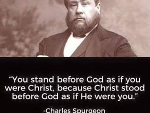 Christ Stood in Your Place