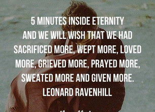 """5 Minutes Inside Eternity"""