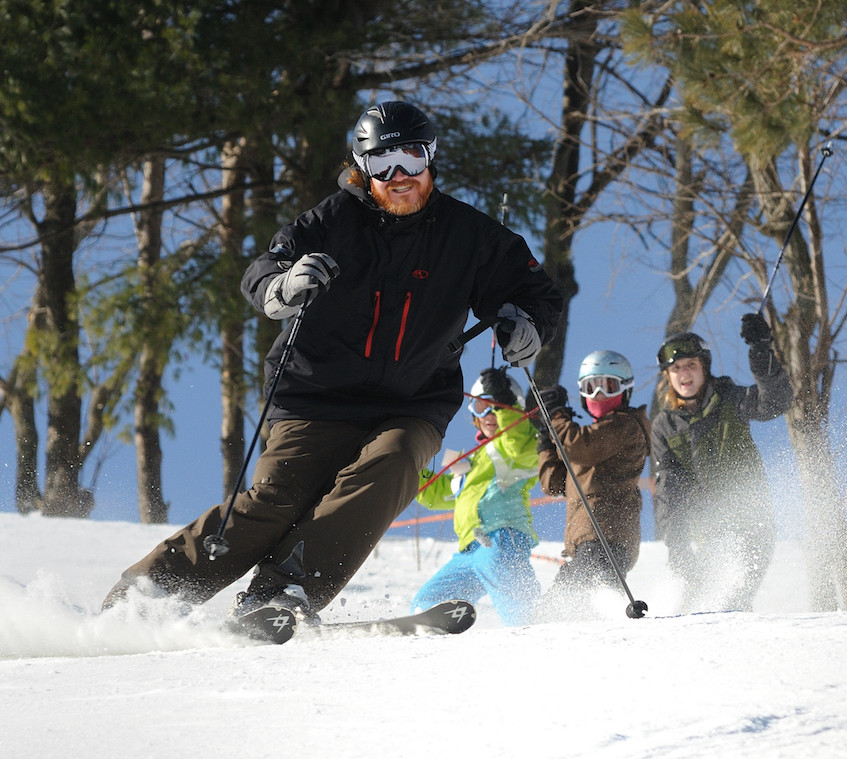 Skiing at Wisp Resort - photo credit Garrett County Chamber of Commerce Timothy Jacobsen