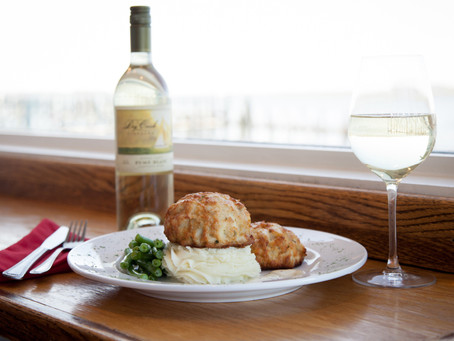 Crab Cakes by Matthew Cohey of The Narrows Restaurant