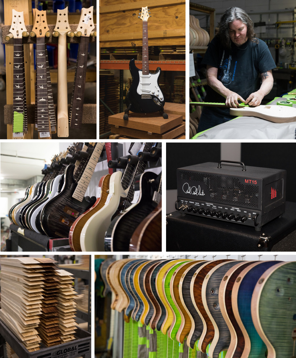 Paul Reed Smith Factory in Stevensville
