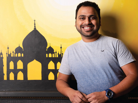 Meet Rohit Shinde, the young man behind Easton's newest Indian cuisine