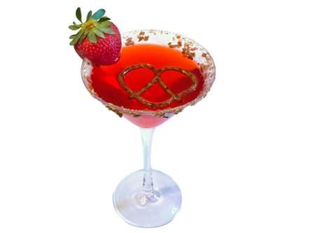 High Spirits: Introducing the Strawberry Pretzel-tini