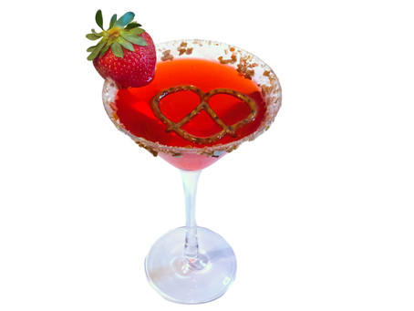 High Spirits: Introducing the Strawberry Pretzel-tini