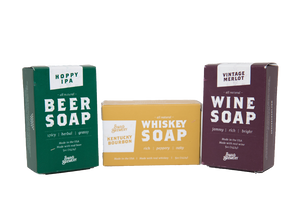 ALCOHOL SCENTED SOAPS