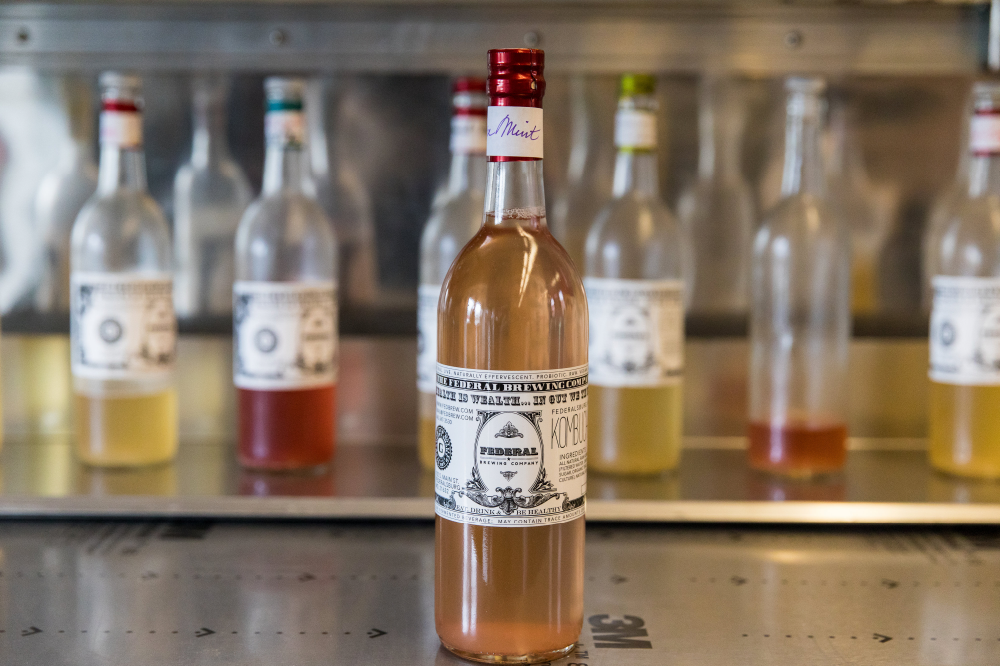 Federal Brewing Company's Kombucha