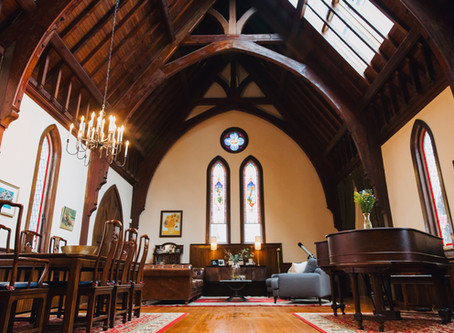 Sanctuary: A Gothic church converted into a home