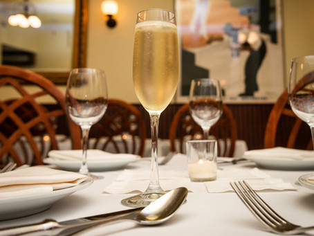 Prepare for New Years in style with delicious sparkling wine pairings at Bistro Poplar