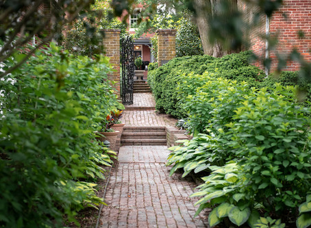 The Talbot Historical Society Gardens in downtown Easton