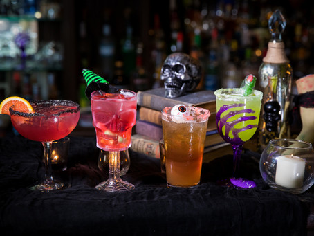 Monstrously good cocktails by master mixologist Dolly McMahon