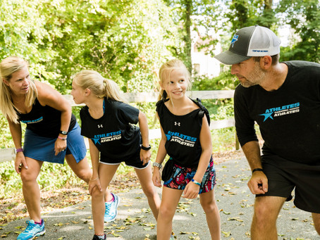 Families that run together talk about its benefits — on and off the trail
