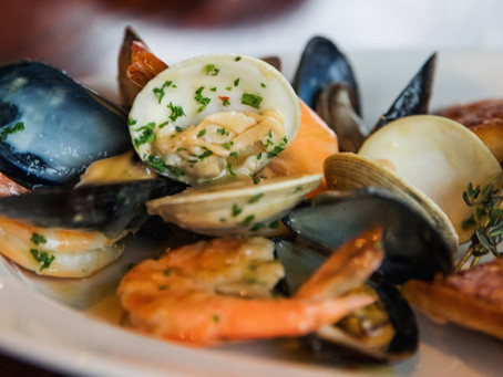 Fisherman's Inn Chef Dennis Walz Shares a Shellfish Steampot to Savor