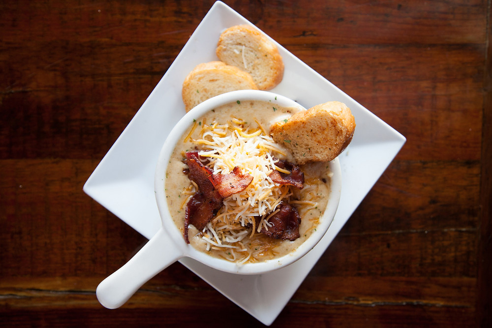 Irish baked potato soup