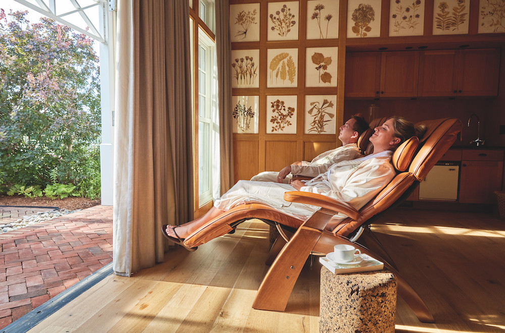 Linden Spa at the Inn at Perry Cabin / Photo Courtesy of Belmond
