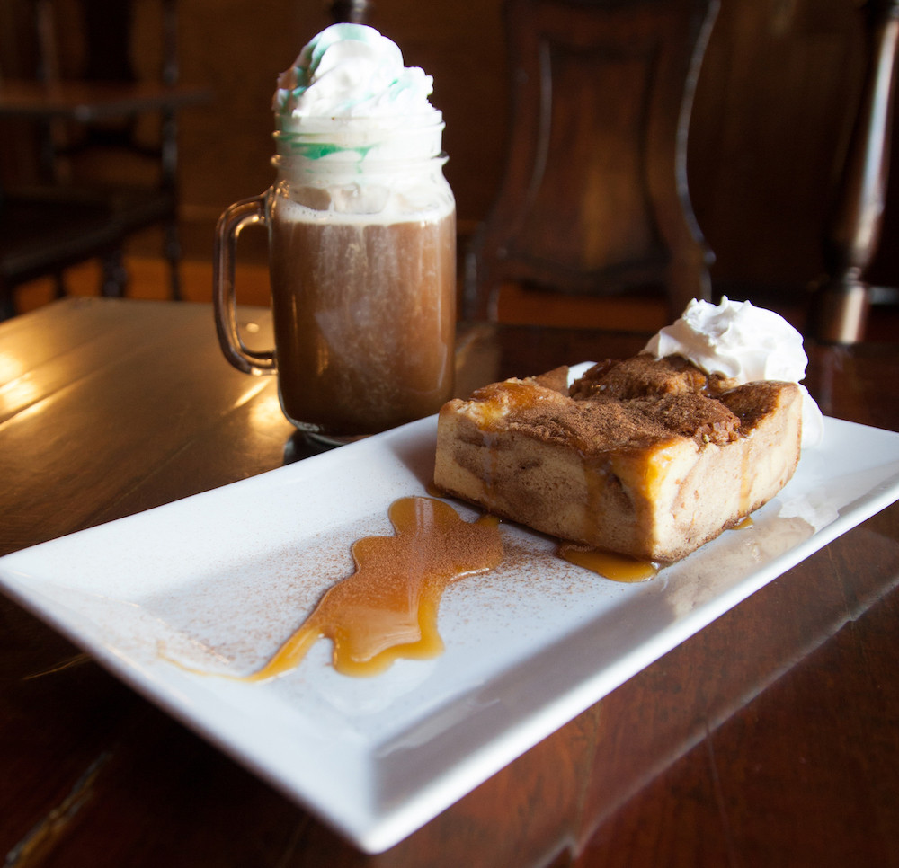 Bread Pudding & Irish Coffee