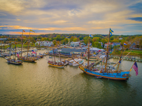 Photographer Sam Shoge's drone photography tells stories of Eastern Shore landscapes