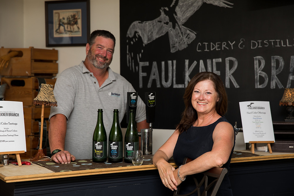 Faulkner Branch Cidery at Blades Orchard