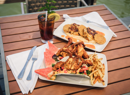 Two creative crab dishes from Capsize for the true Marylander