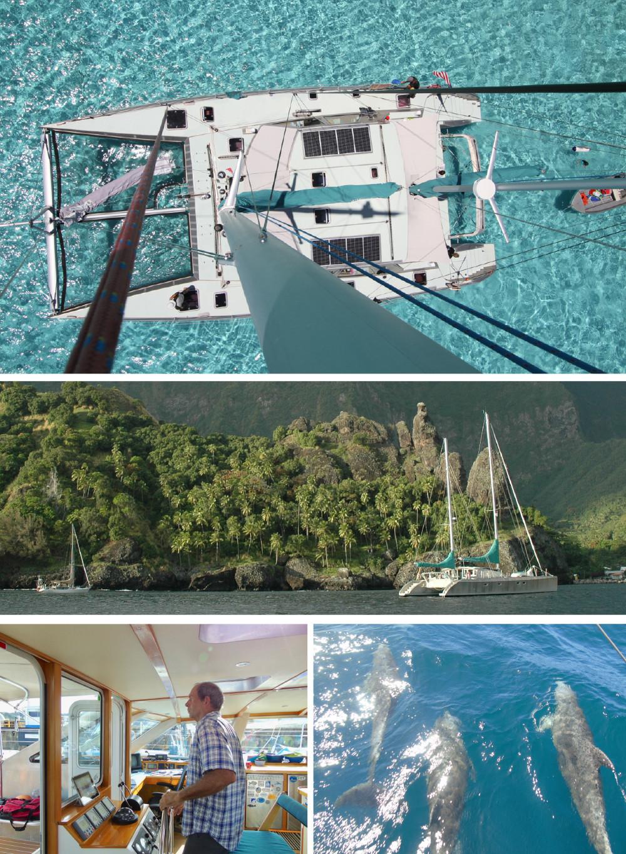 The Johnson Family's Life at Sea