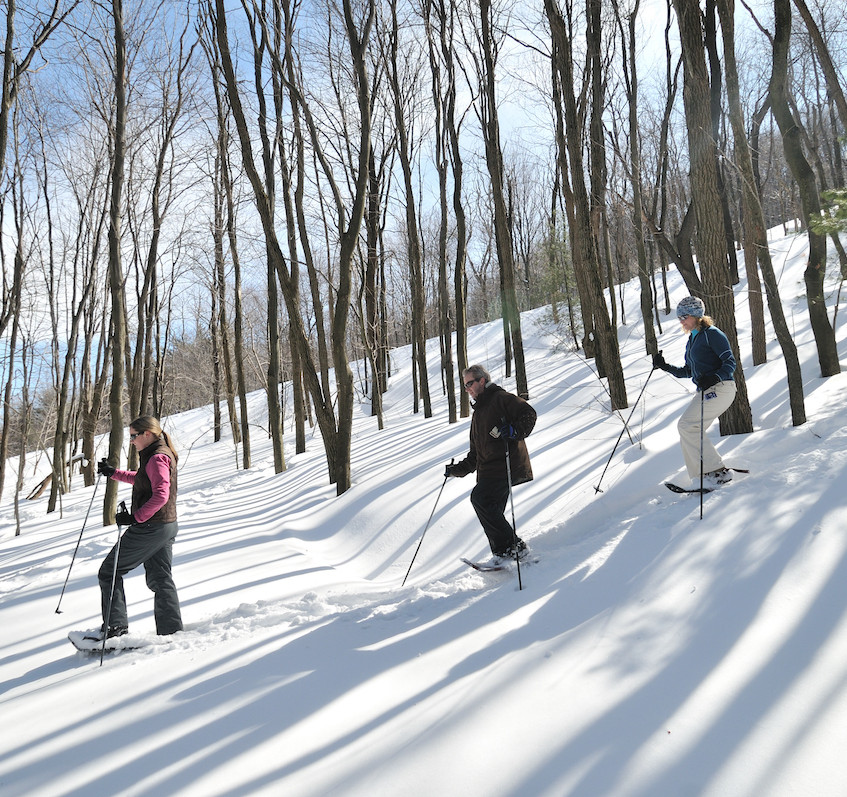Snowshoeing in Garrett County 2 - photo credit Crede Calhoun for Garrett County Chamber of Commerce (1)