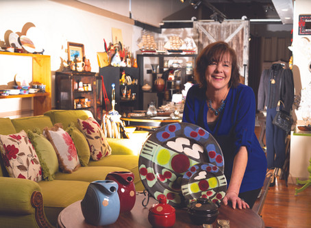 Art Beat: Elizabeth Hickman is bringing a colorful new retail experience to downtown Easton