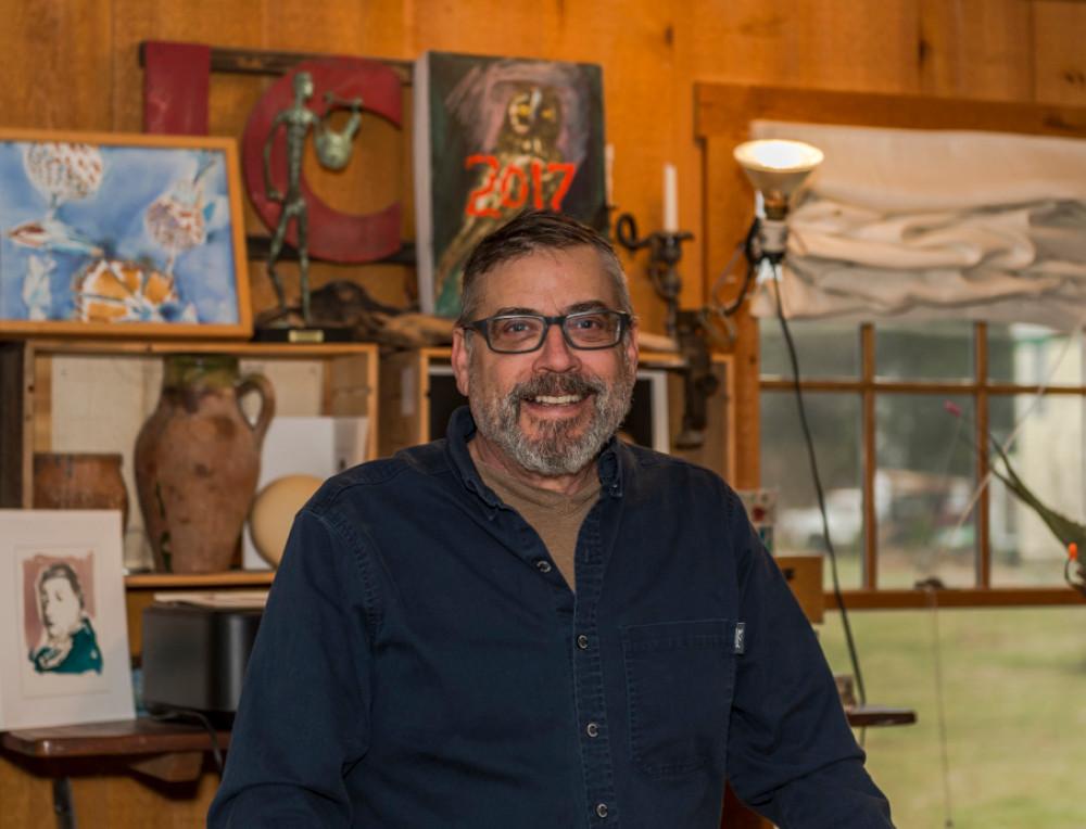 Artist Kevin Garber