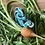 Thumbnail: Sleeping Hare (Oriental Blue)