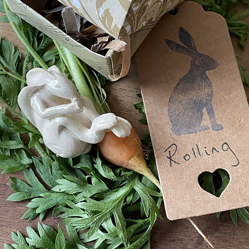 Rolling Hare (Clear Crackle)