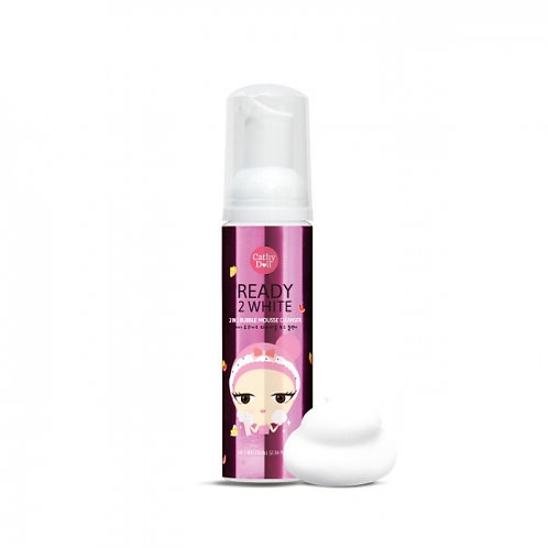 Cathy Doll Ready 2 White Bubble Mousse Cleanser