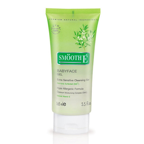 Smooth E Babyface gel 165ml (5.5 OZ)