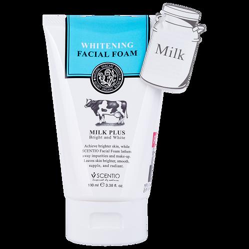 Scentio Milk Plus Whitening Q10 Facial Foam