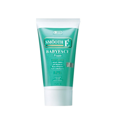 Smooth E Babyface foam 120g (4FL.OZ.)