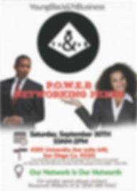 2nd YB&NB P.O.W.E.R. Mixer flyer.