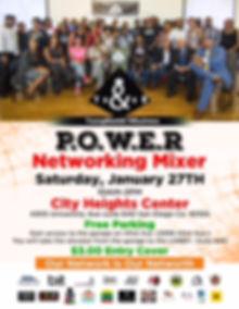 3rd YB&NB P.O.W.E.R. Mixer flyer.