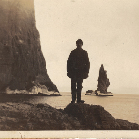 Anna at Seals hunting Expedition 1964