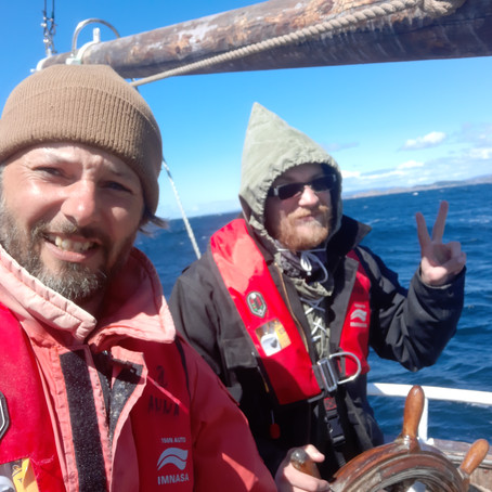 Sailing down from Stavanger -  Norway to Barth - Germany