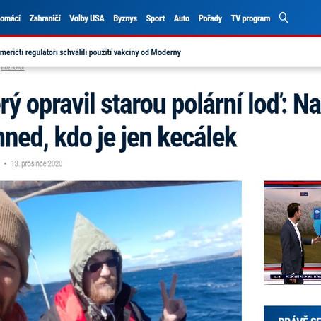 Interview on CNN (Czech version)