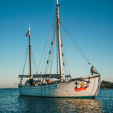 Anna is back in Norway after sailing from Germany