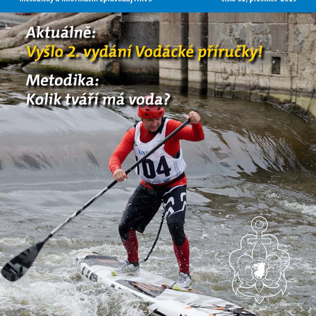 "Clanek ve skautske ""Kapitanske poste"" Article about Anna in Czech Sea-Scouts magazine"