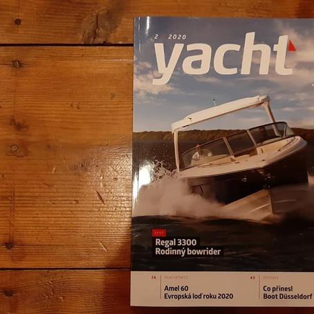 Clanek v Yacht magazinu  Article about Anna in Czech Yacht Magazine